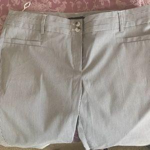 NWOT  MANGO Striped Pants